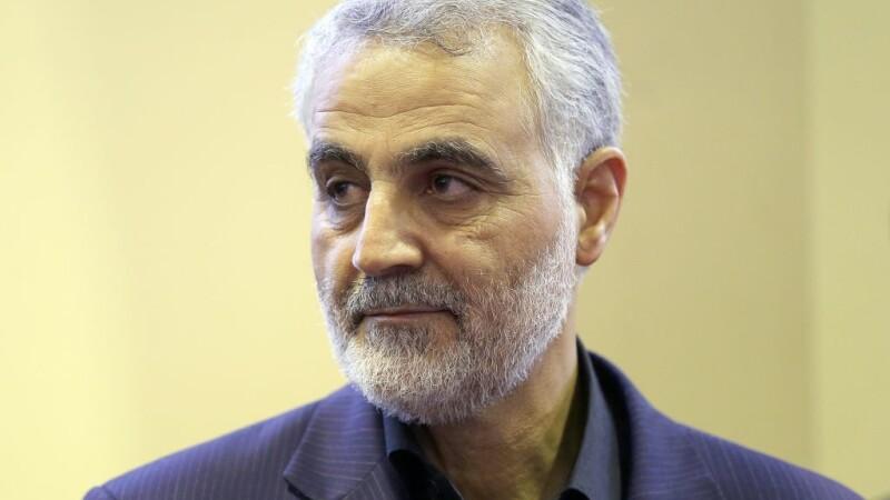 Generalul iranian Qassem Soleimani