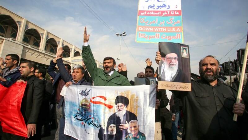 proteste in iran, după uciderea generalului Soleimani