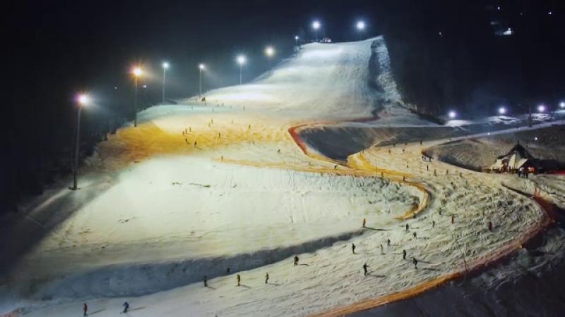 Atracțiile oferite turiștilor de cea mai amre stațiune de schi din Europa de est