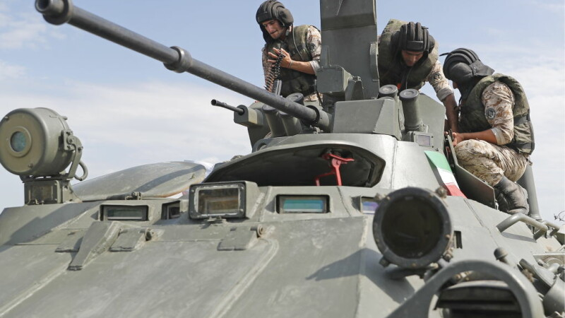 soldati Iran