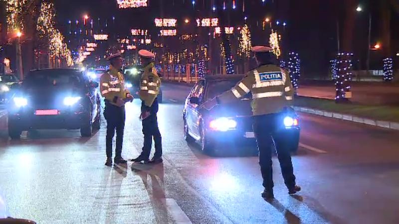 Razie în București, pentru depistarea șoferilor sub influența băuturilor alcoolice