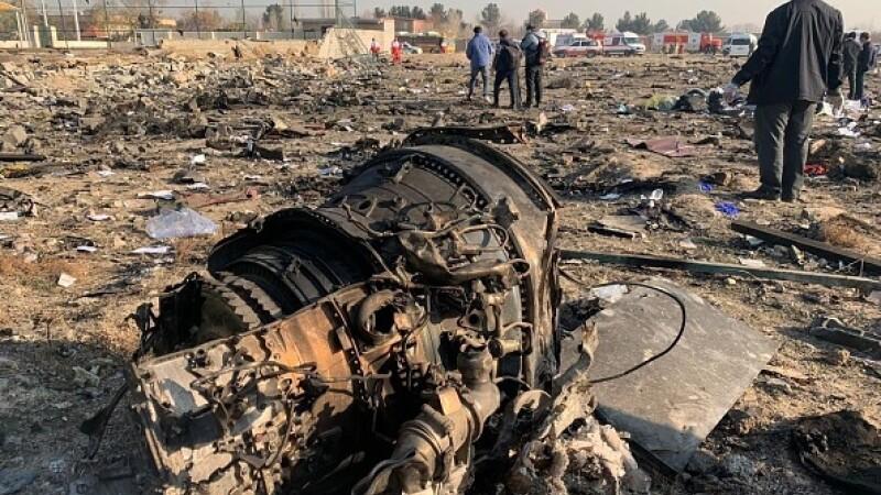 Un avion ucrainean cu 180 de persoane la bord s-a prăbușit în Iran. Toți pasagerii au murit - 12