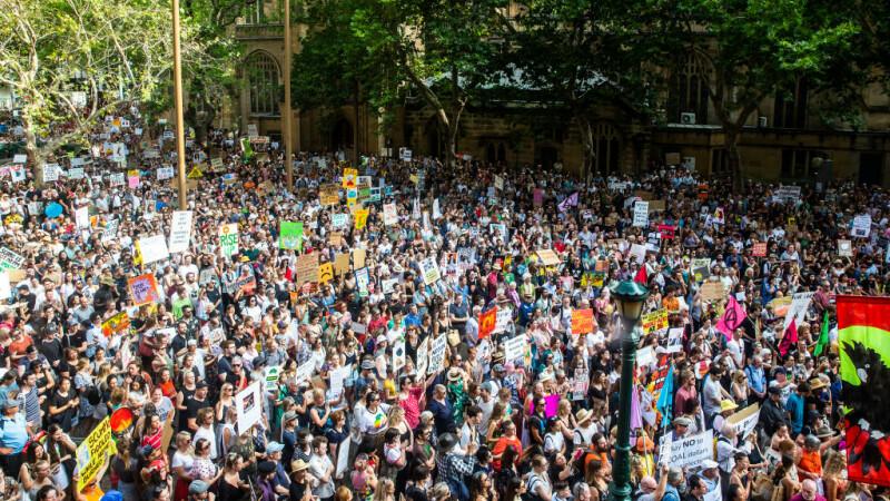 proteste in Australia