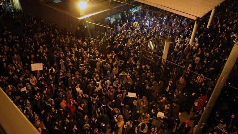 Protest Teheran - 3