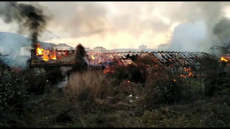 Incendiu la Piatra Neamt