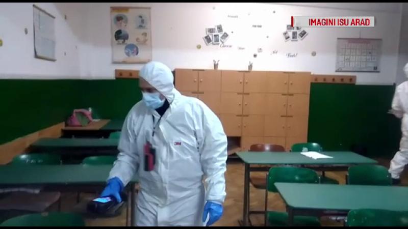Una dintre substanțele folosite pentru dezinsecția școlii din Arad, INTERZISĂ în România
