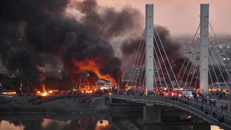 Proteste violente Irak - 9