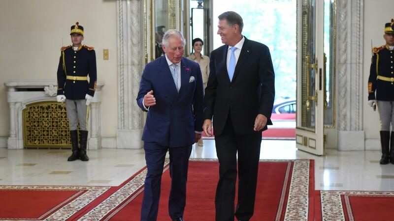 Klaus Iohannis, Printul Charles