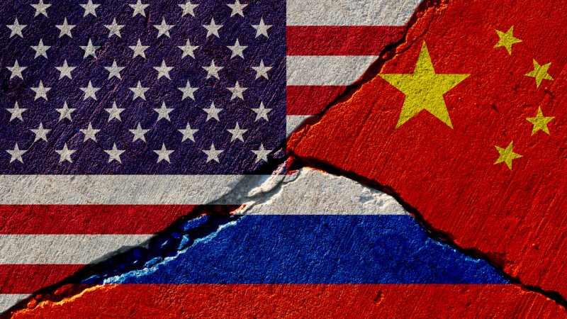 SUA, Rusia, China