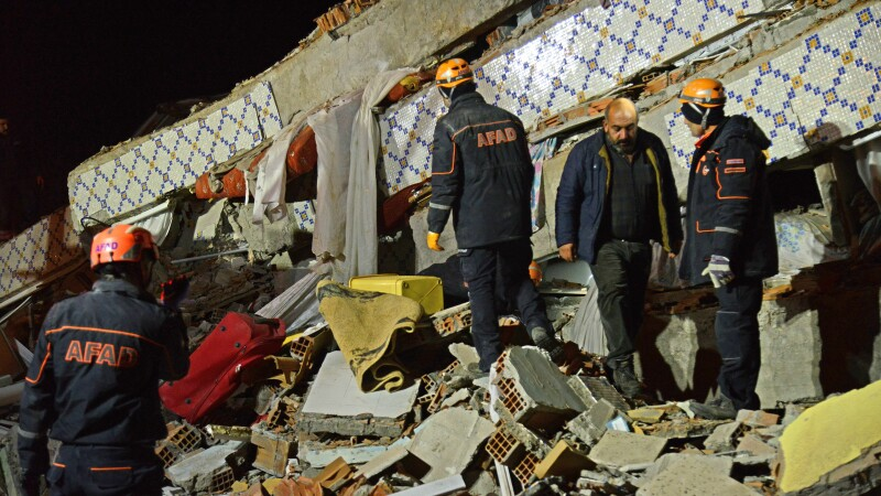 cutremur in Turcia - 1