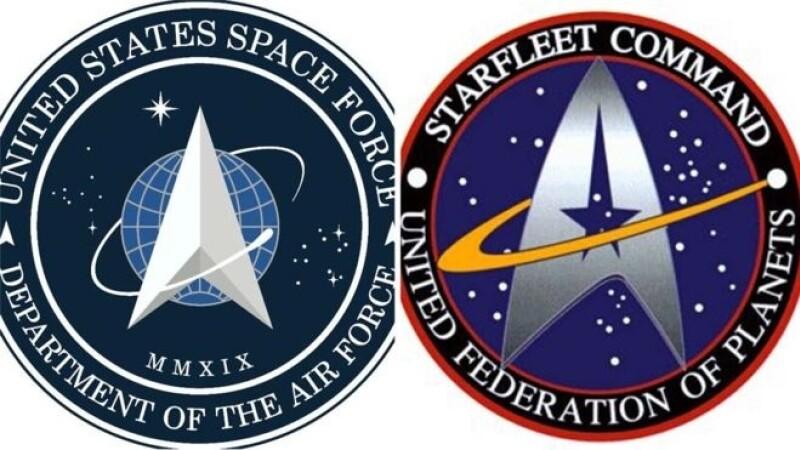 Noul logo al Forţei Spaţiale din SUA