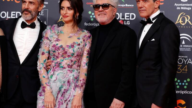 Pedro Amodovar, Penelope Cruz, Antonio Banderas