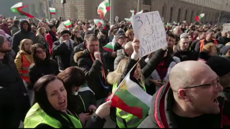 proteste in Bulgaria