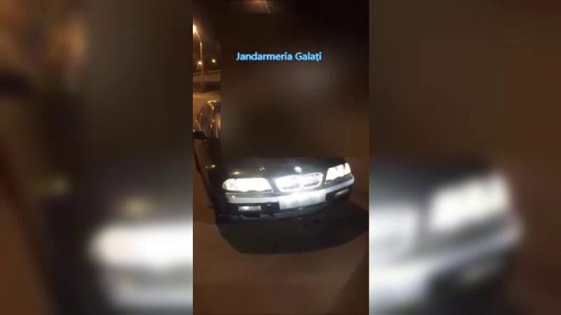 Sofer de BMW fara permis