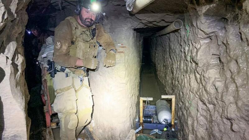 tunel droguri