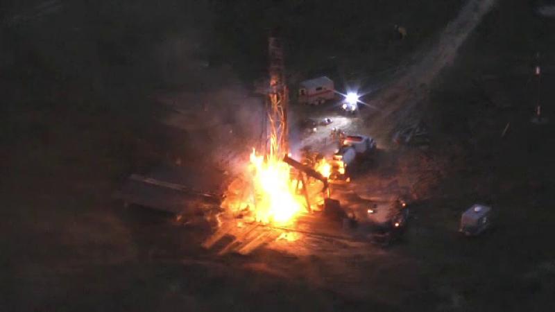 O sondă de petrol a explodat în Texas. Un mort și trei răniți