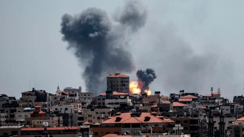 Ripostă militară israeliană în Fâşia Gaza după tiruri cu rachete efectuate de Hamas