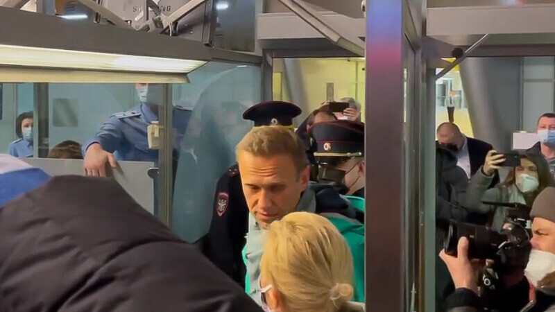 Opozantul rus, Alexei Navalnîi, a fost arestat