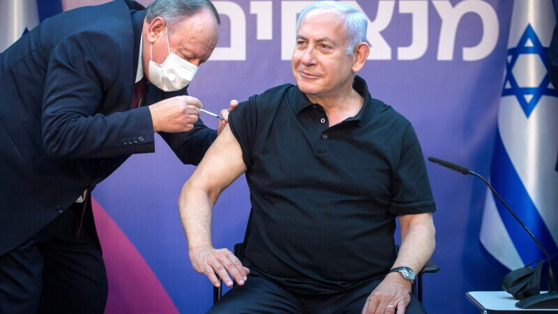 Benjamin Netanyahu, vaccin, Israel