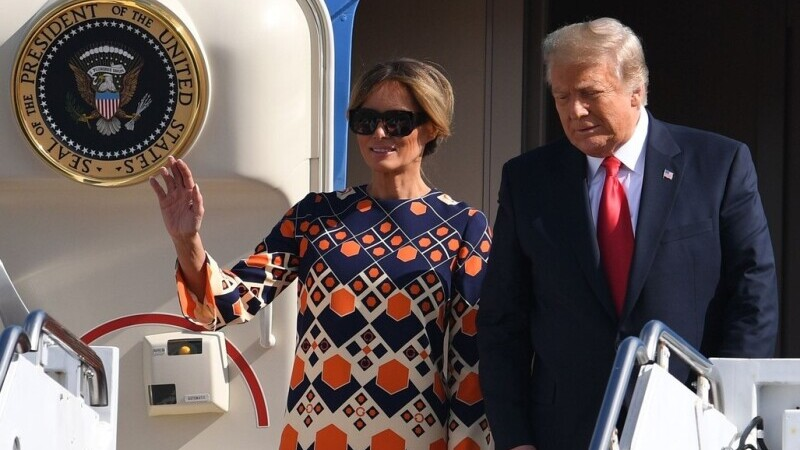 Donald și Melania Trump