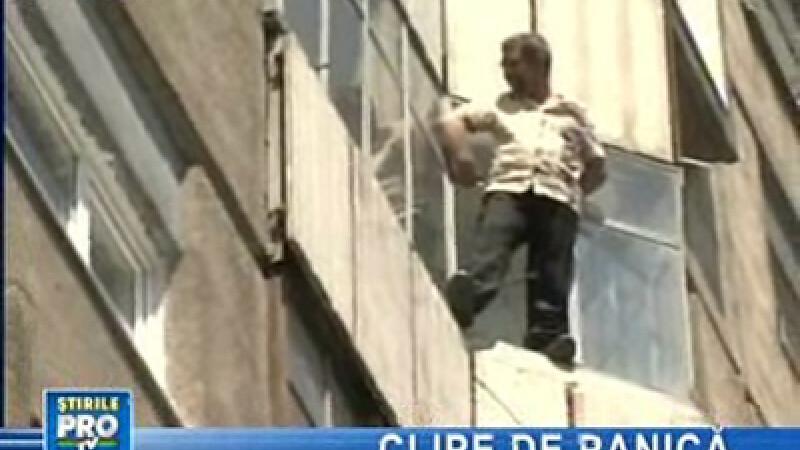 Tentativă de suicid, în Cluj