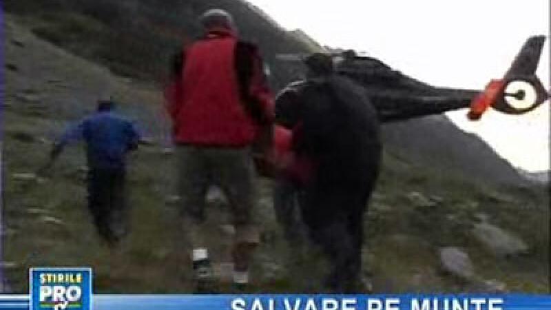 Operaţiune dificilă de salvare în Masivul Făgăraş!