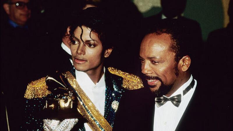 Quincy Jones si Michael Jackson