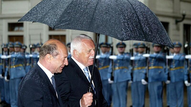 Vaclav Klaus si Traian Basescu