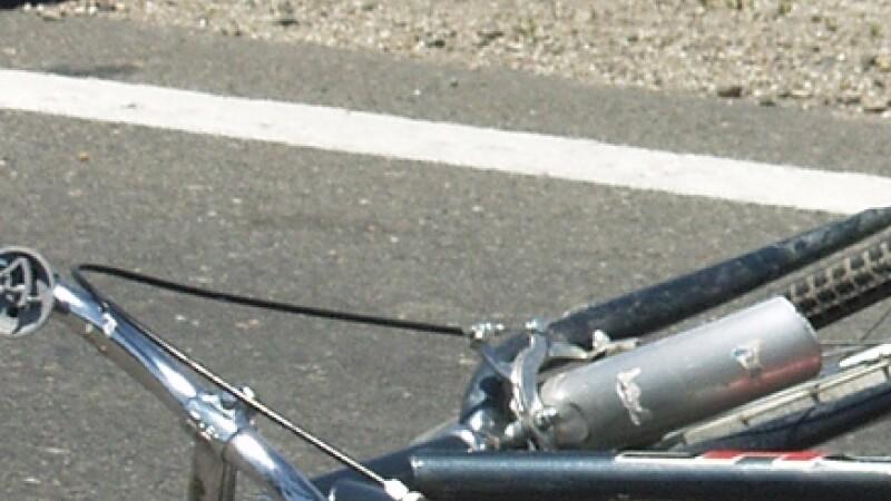 Accident bicicleta