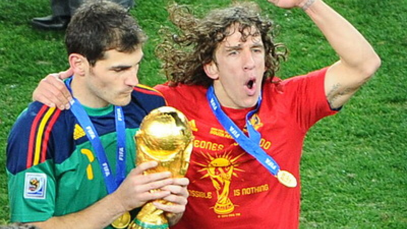 Carles Puyol si Casillias