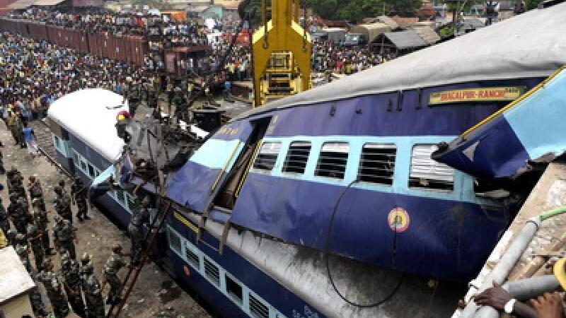 Accident feroviar, tren