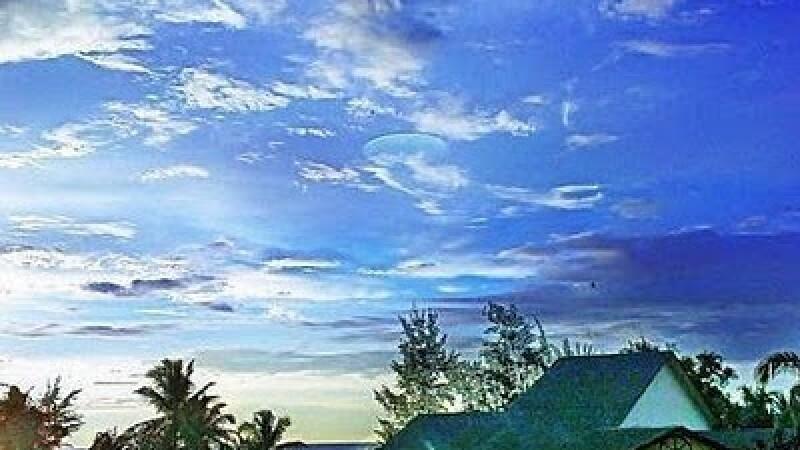 Dosarele X in Malaezia! Un OZN a vizitat plaja Tuaran. FOTO
