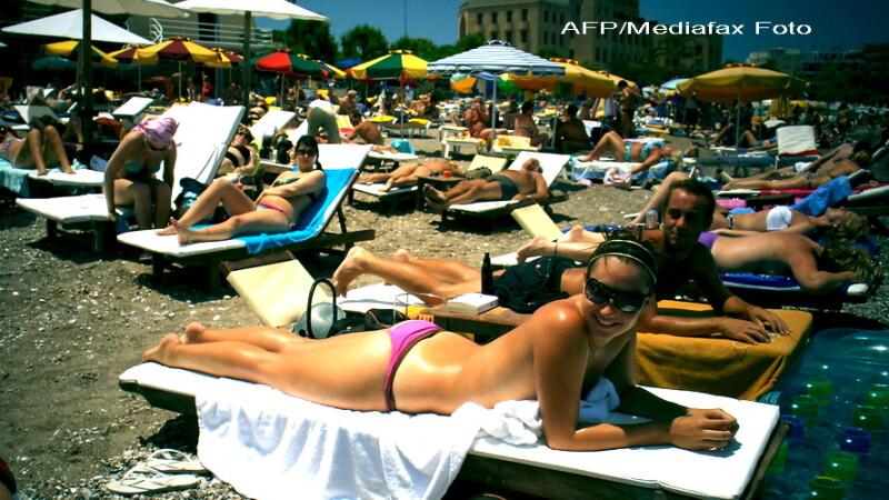 Plaja in Grecia