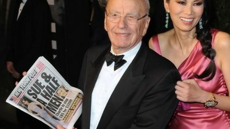 Rupert Murdoch si sotia sa, Wendi Deng Murdoch