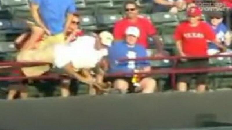 Accident baseball