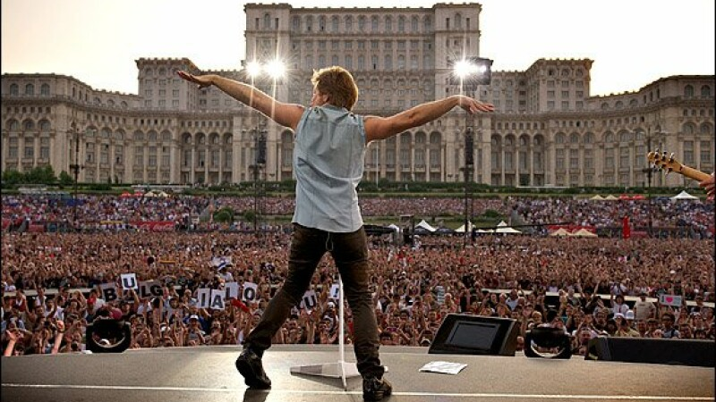 John Bon Jovi la Bucuresti