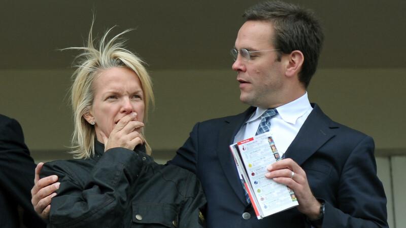 Elisabeth si James Murdoch