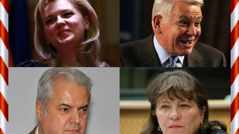 Roberta Anastase, Teodor Melescanu, Adrian Nastase si Norica Nicolai