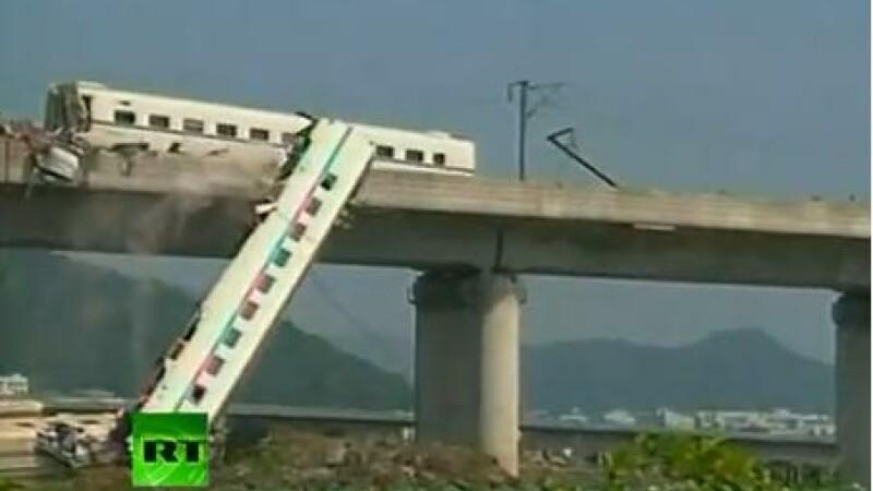 accident tren china
