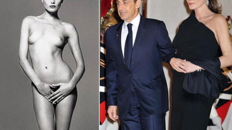 Carla Bruni - de la model topless, la sotie de presedinte! Afla detalii picante din viata ei!