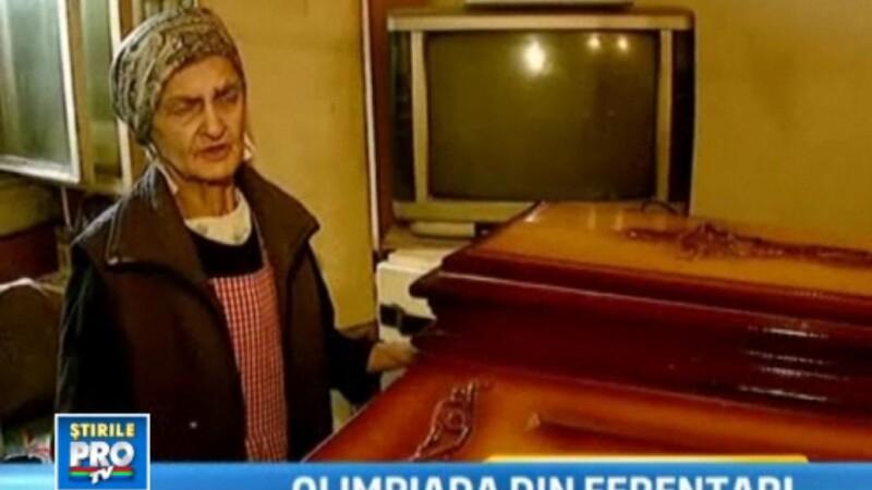 VIDEO.Jocurile Olimpice din Ferentari. Femeia care doarme cu cosciugul in casa si cursele cu guzgani