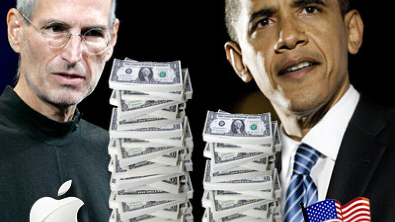 Steve Jobs si Barack Obama