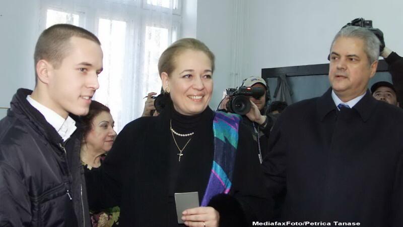 Andrei Nastase, Adrian Nastase, Dana Nastase