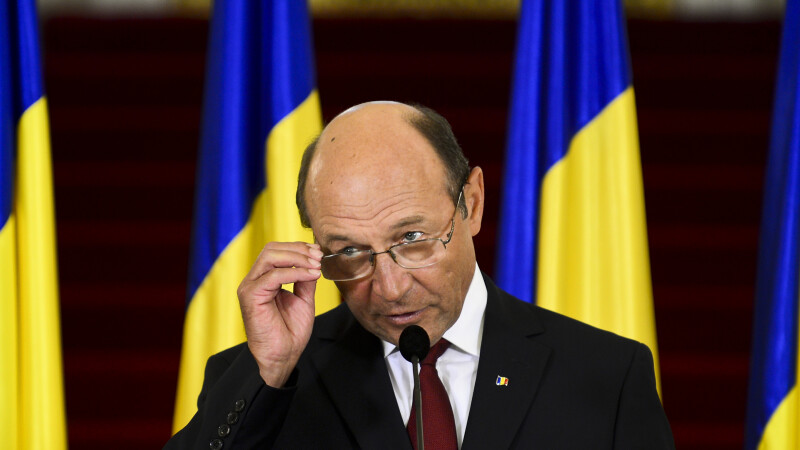 Traian Basescu cotroceni