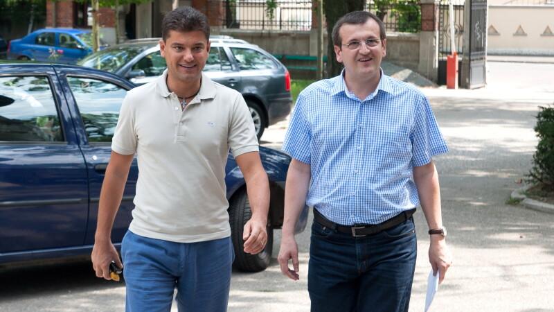 Cristian Boureanu si Cristian Preda