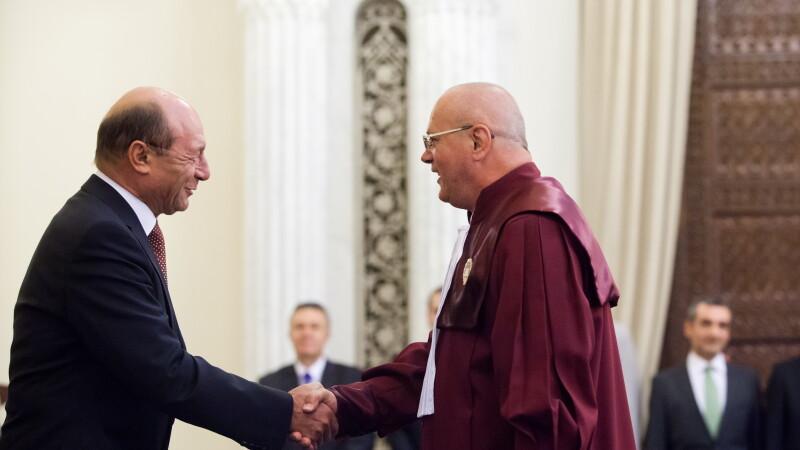 Traian Basescu, Curtea Constitutionala