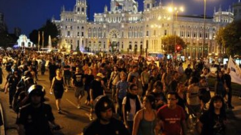 Proteste Spania