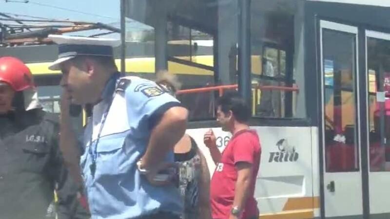 Accident tramvaie Rahova