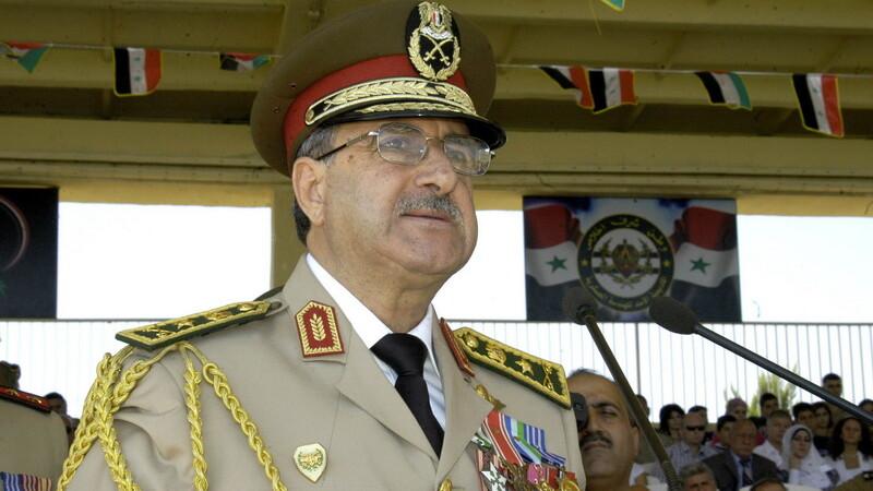 Daoud Rajha, ministrul sirian al Apararii