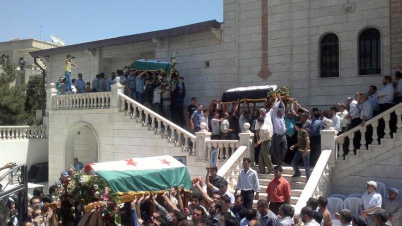 Siria masacru